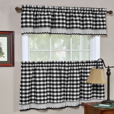 Buffalo Check Burgundy Plaid Curtains | Save today!