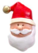 Christmas Santa Claus Shower Hooks