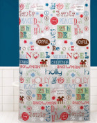 Christmas Winter Wishes Shower Curtain