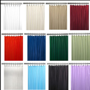Bulk Case Pack Vinyl Shower Curtain Liner 4 gauge
