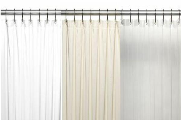 Bulk Case Pack 24 Pcs Vinyl Shower Curtain Liner 5 Gauge 78 Long