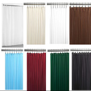 Bulk Case Pack (24 pcs) Fabric Shower Curtain Liner - Standard Size