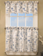 By The Sea kitchen curtain