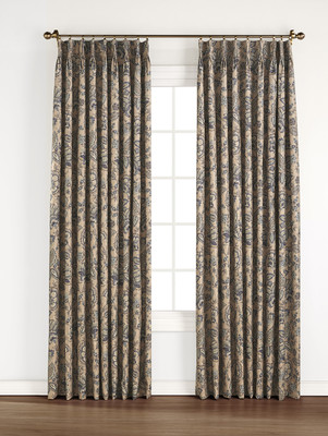 Monique Foamback Pinch Pleated Drape pair - Taupe