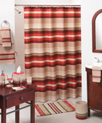 Madison Stripe Shower Curtain & Bath Accessories
