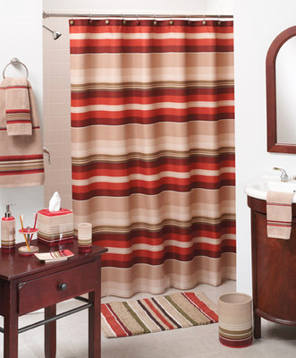 Madison Stripe Shower Curtain Amp Bath Accessories