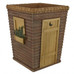 Outhouses - Fabric Shower Curtain and Bathroom Accessories collection wastebasket