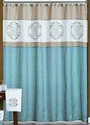 Medallion - Fabric Shower Curtain