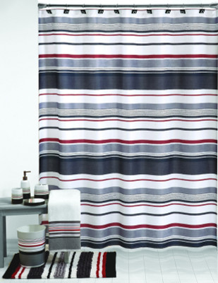 Metro Shower Curtain & Bathroom Accessories collection from Saturday Knight Ltd