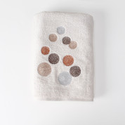 Dots & Rings bath towel from Saturday Knight