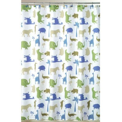 Animal Crackers Fabric Shower Curtain