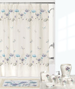 Garden Gate Shower Curtain & Bathroom Accessories