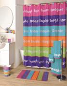 Inspiration shower curtain & bathroom accessories