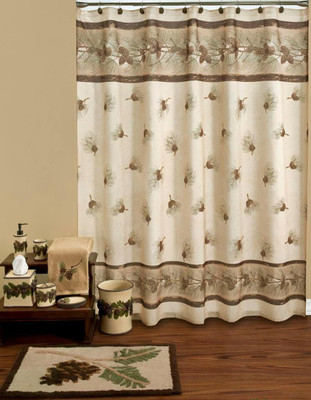 Pinehaven   Shower Curtain And Bathroom Accessories Collection