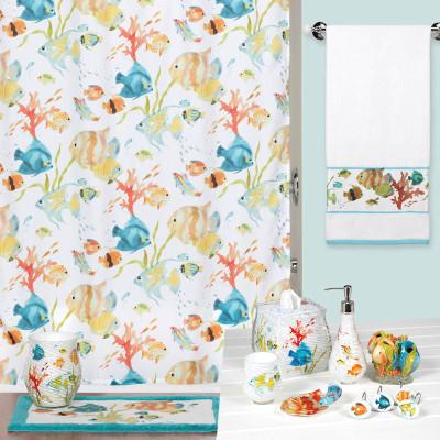 Rainbow Fish Shower Curtain U0026 Bathroom Accessories
