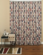Scottsdale shower curtain & bathroom accessories collection