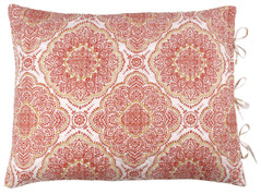 Trina Quilted Reversible Pillow Sham - Cinnamon