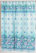 Oceanic Sealife - Fabric Shower Curtain