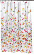 Shannon Butterflies - Fabric Shower Curtain