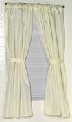 Solid color Bathroom Window Curtains - Fabric