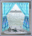 Oceanic - Fabric Window Curtain