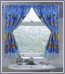 Sealife Tropical Sea - Fabric Window Curtain