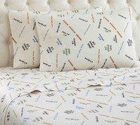 Micro Flannel Sheet Set - Goodnight Y'all