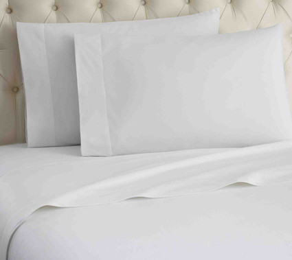 Micro Flannel Solid Sheet Set - White from Shavel