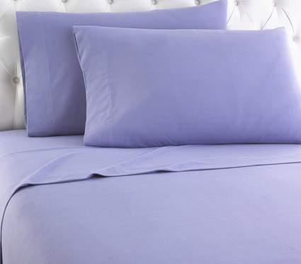 Micro Flannel Solid Sheet Set - Amethyst from Shavel