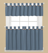 Westlake Kitchen Curtain - Blue from Saturday Knight Ltd
