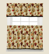 Fruits Du Marche Kitchen Curtain from Saturday Knight
