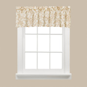 Melissa floral kitchen curtain valance from Saturday Knight