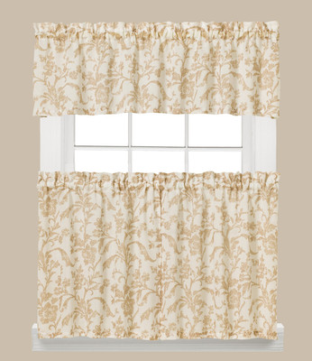 Melissa Floral Kitchen Curtain from Saturday Knight