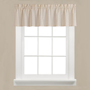 Hopscotch kitchen curtain valance from Saturday Knight