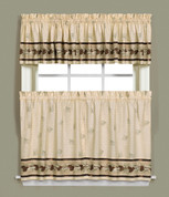 Pinehaven Kitchen Curtain from Saturday Knight