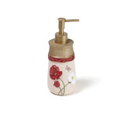 Poppy Field Lotion Dispenser from Saturday Knight