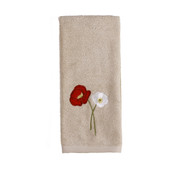 Poppy Field Hand Towel from Saturday Knight
