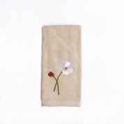 Poppy Field Fingertip Towel from Saturday Knight