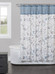 Passel Blue Shower Curtain from Saturday Knight