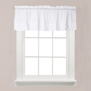 Holden kitchen valance - White from Saturday Knight