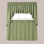 Holden Sage Green Kitchen Curtain from Saturday Knight