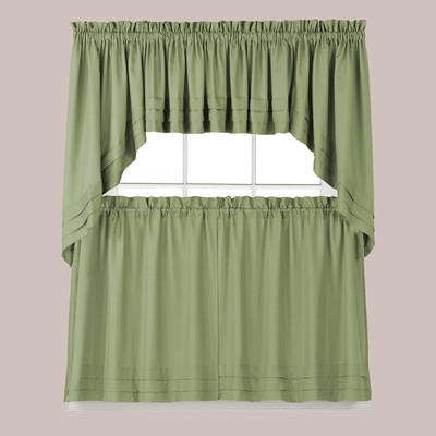 Holden Kitchen Curtain Sage Green
