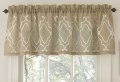 Carlyle Kitchen Curtain valance from Lorraine Home
