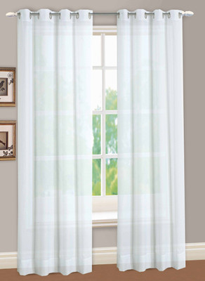 Reverie Semi-Sheer Grommet Top Curtain Panels from Lorraine Home