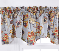 Celine Lined Rod Pocket Valance - Provence Blue