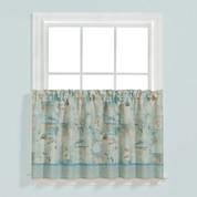 """High Tide 24"""" tier (pr) kitchen curtain"""