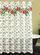 Deck the Halls Christmas Shower Curtain
