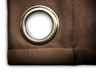 Ultimate Blackout Grommet Top Curtains espresso