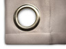 Ultimate Blackout Grommet Top Curtains grey