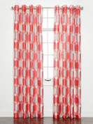 Felix Printed Grommet Top Curtain Panel - Sorbet